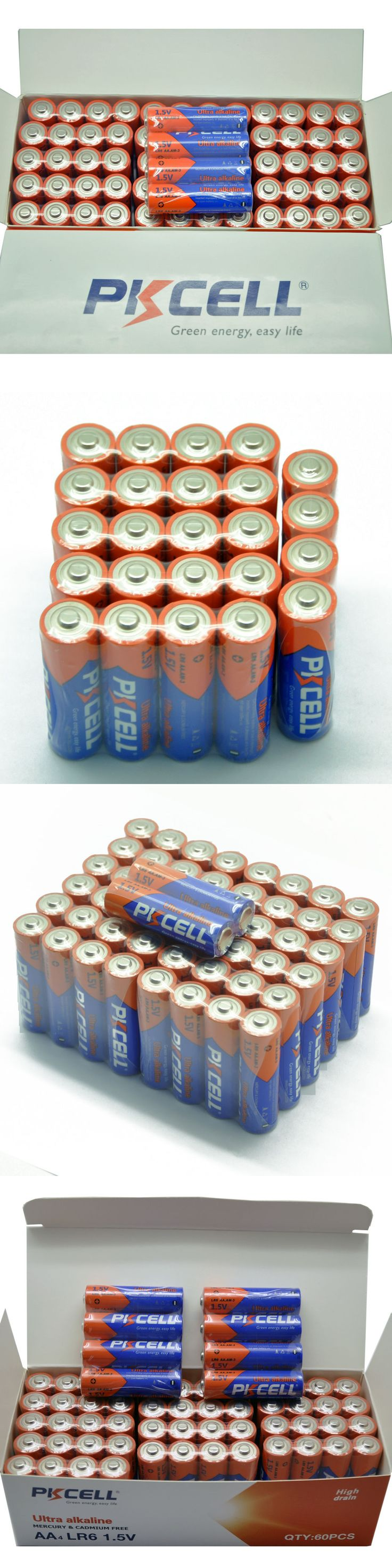 Batteries and Power Accessories: Wholesale Bulk Lot 1000 X Aa Lr6 Am3 Mn1500 Alkaline Batteries 1.5V Industrial -> BUY IT NOW ONLY: $188.88 on eBay!