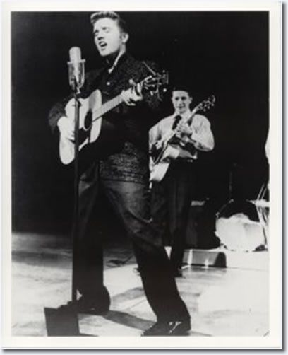 Elvis Presley The Dorsey Brothers Stage Show March 24, 1956