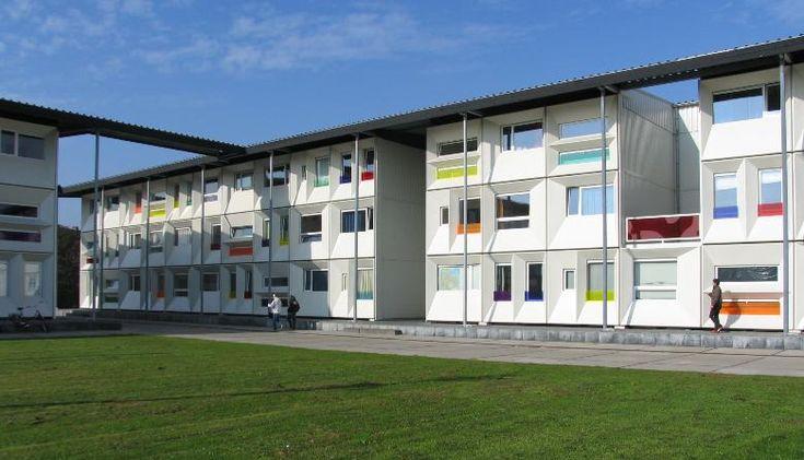 コンテナハウス学生寮 | アムステルダムの建築を訪ねて(オランダ)No.12 | Tabi/世界の建築 | お知らせ | デザイナーズマンション,株式会社リネア建築企画