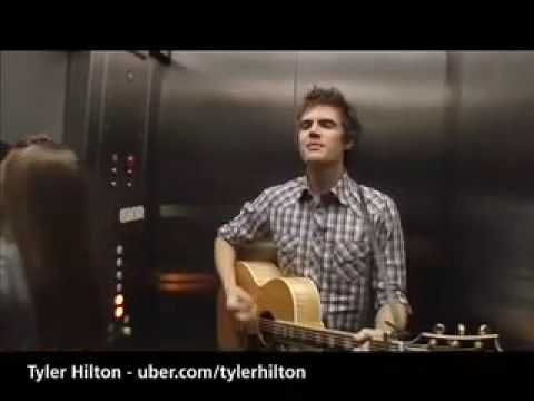 Tyler Hilton - Thursday Afternoon in the Elevator    I'm obsessed with him.