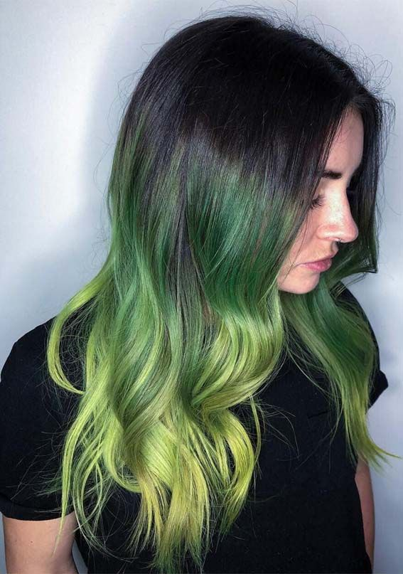Account Suspended Cool Hair Color Hair Color Highlights Green Hair