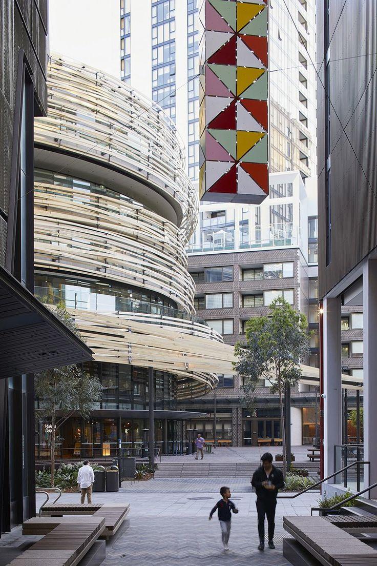 kengo kuma wraps sydney's 'the exchange' in sculptural