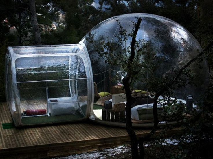 Stay in Nature with Bubble Hotel
