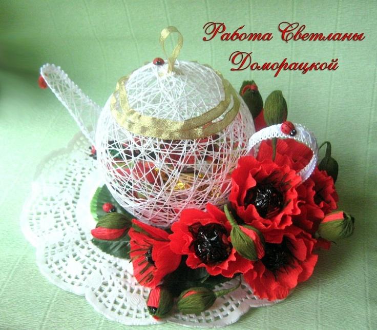 Gallery.ru / Маковый чай с конфетками... :))) - Кофе, чай, алкоголь - MariC
