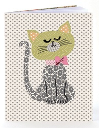 Cat notebook from the brilliant Petra Boase.