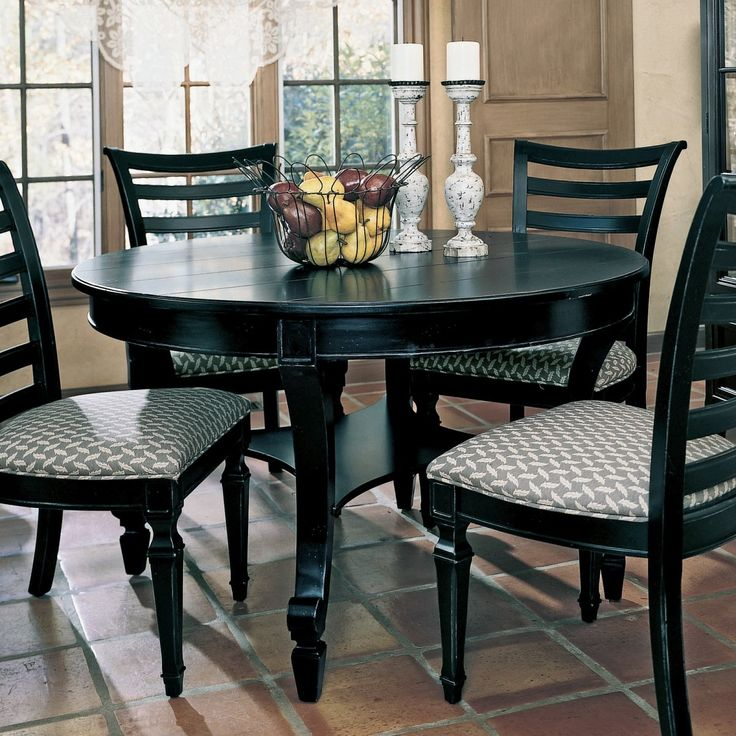 best 25 small round kitchen table ideas on pinterest kitchen chair makeover porch table and. Black Bedroom Furniture Sets. Home Design Ideas