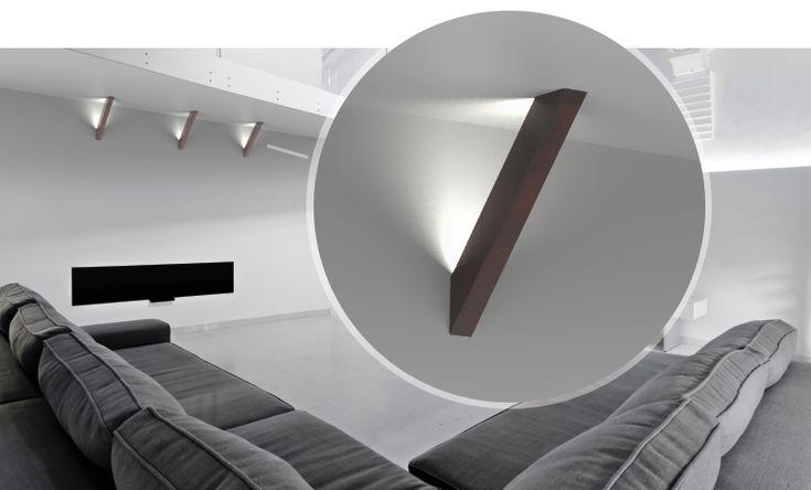 Illuminazione Led a parete Trave by Puraluce