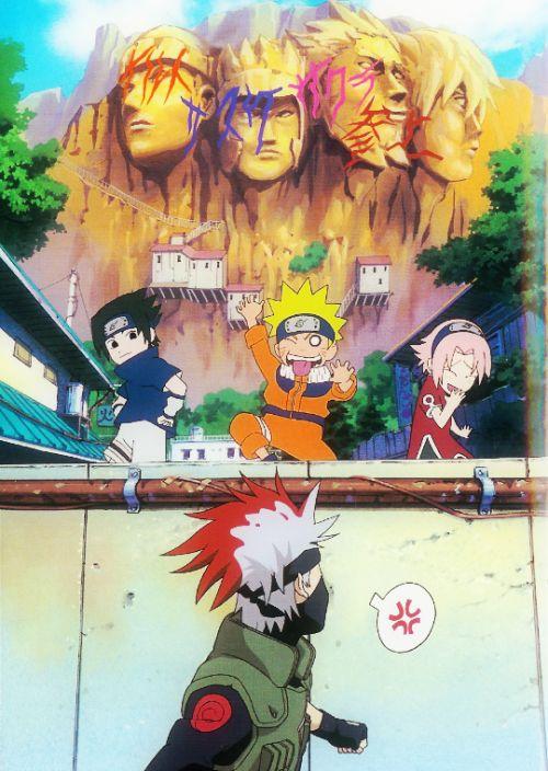 Yeah Naruto go ahead and paint on the future hokage too