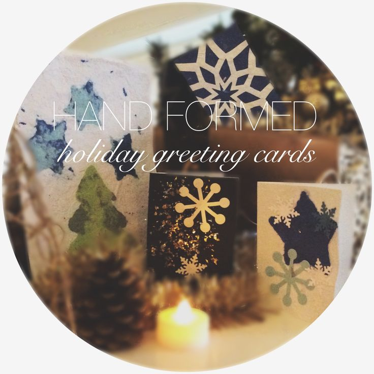 Learn how to form beautiful greeting cards, wrapping paper and tree decorations right from pulp at our OOAK fibre art course! Register for our holiday class at the Pulp and Paper Centre, UBC at http://www.ppc.ubc.ca/courses/