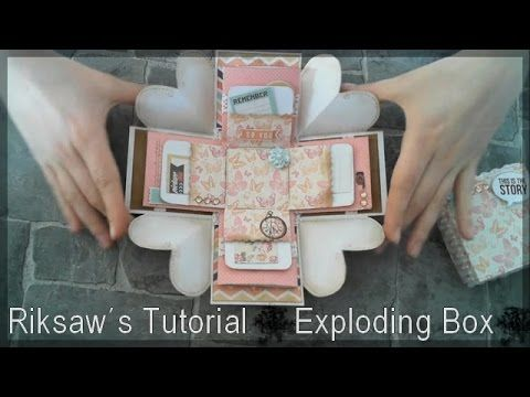 DIY [Tutorial #1] Exploding Box (with english sub)