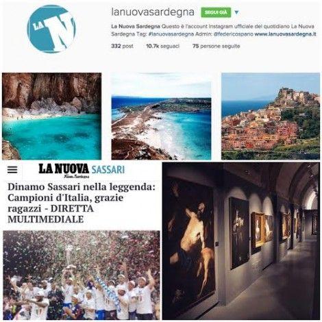 La Nuova Sardegna su Instagram: in due mesi supera i 10 mila follower anche grazie agli igers