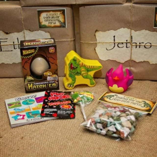 Dinosaur Party gift box