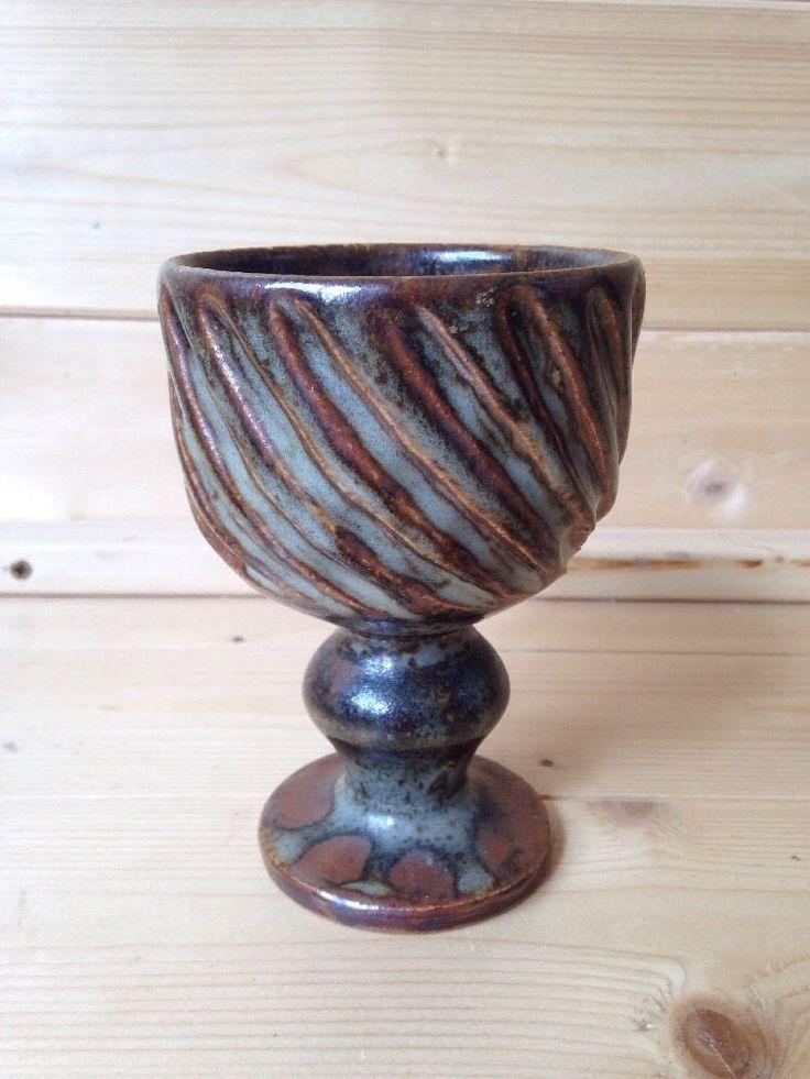 Early David Leach Aylesford Pottery Goblet THE Friars AP Mark 13cm Tall | eBay