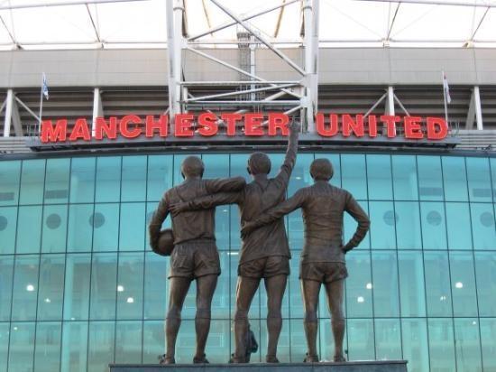 Manchester, UK: Go Man U!!!