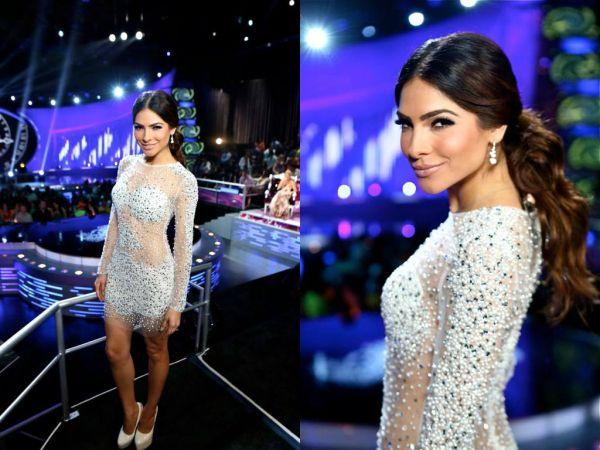 Alejandra Espinoza looked ravishing hosting Nuestra Belleza Latina in this amazing #Jovani dress http://www.jovani.com/celebrity-dresses/alejandra-espinoza-in-88475-113483