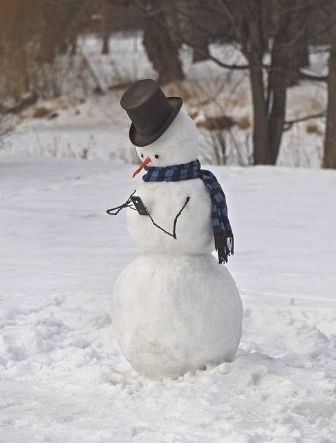 ❅ I love building snowmen with my brother when it snows! Especially when there's a big blizzard and we can make a snow fort to go around it!