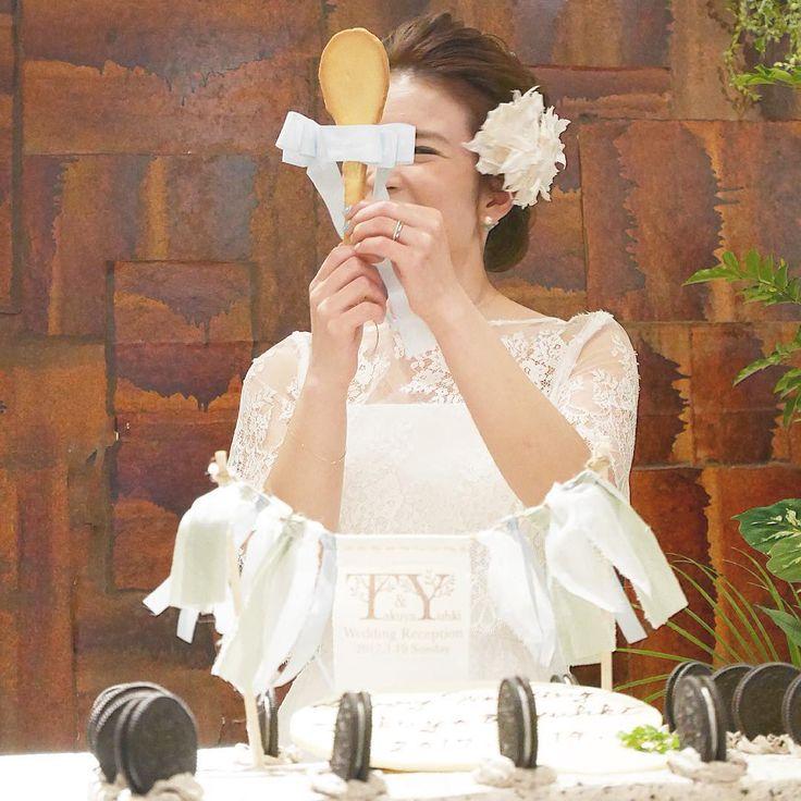 「花嫁手作りクッキースプーン」でファーストバイトが凄い! | marry[マリー]