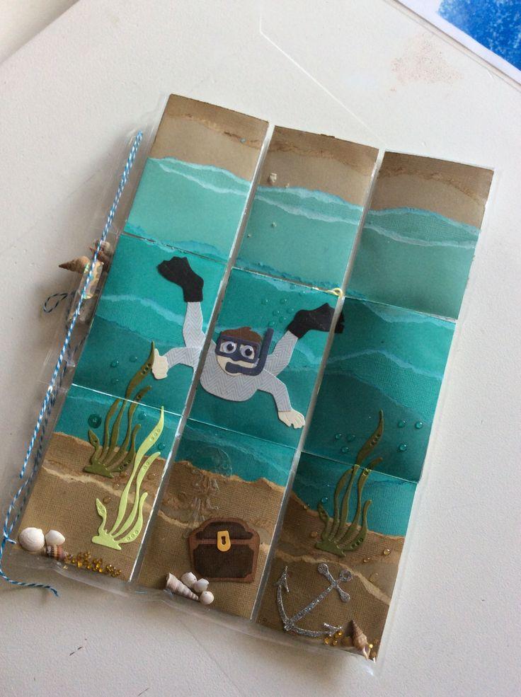 Pocket letter, under the sea