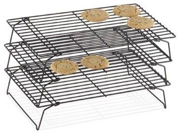 Wilton Indulgence Three-Tier Cooling Rack modern kitchen tools --- this would be great for baking!!