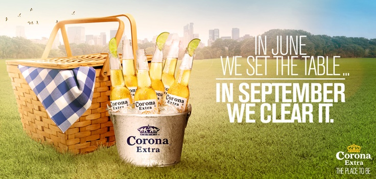 Let's Picnic. Of course with Corona.