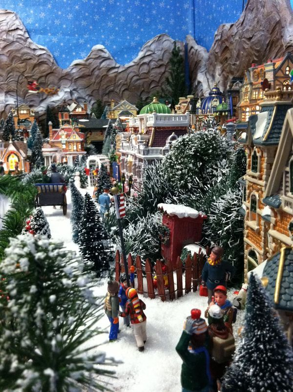 22 best 2015 Christmas Village images on Pinterest Christmas - christmas town decorations