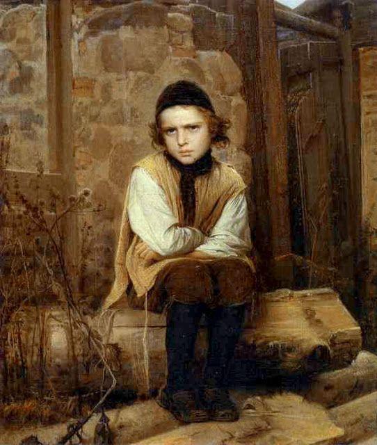 Προσβεβλημένο Εβραϊκό παιδί.