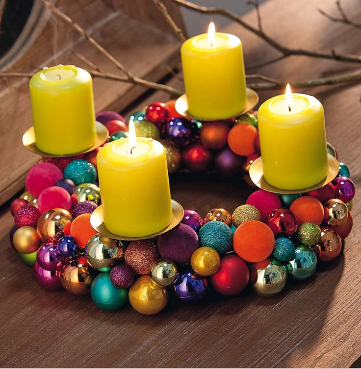 Advent wreath at Impressionen