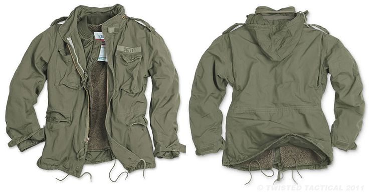 M65 REGIMENT ARMY FIELD JACKET & QUILTED LINER OLIVE |