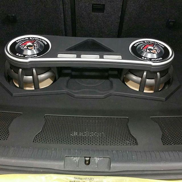1402 best Car Audio Custom installs images on Pinterest ... |Stormtrooper Car Audio Custom Trunk Install
