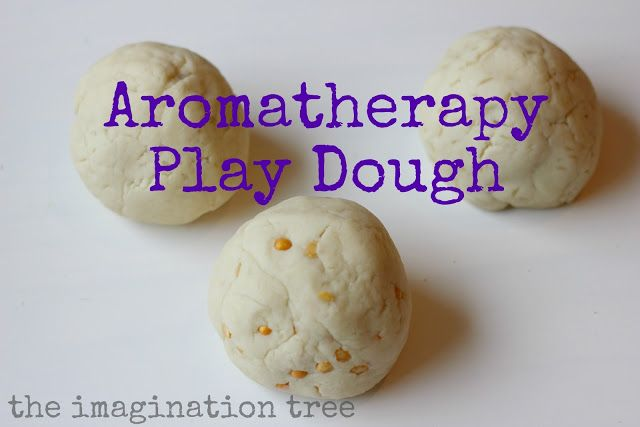 Turn playtime into a calming aromatherapy session for kids with aromatherapy play dough!