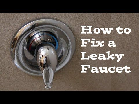 How to repair a leaky single lever moen bath or shower faucet Best 25  Shower faucet repair ideas on Pinterest   Craftsman  . Fix Bath Faucet Shower. Home Design Ideas