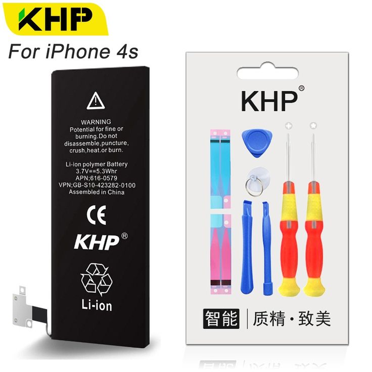 12.53$  Watch here - KHP 2017 New Original Replacement Phone Battery For iPhone 4s Real Capacity 1430mAh 0 Cycle Repair Tool Kit Batteries Sticker   #buyonline