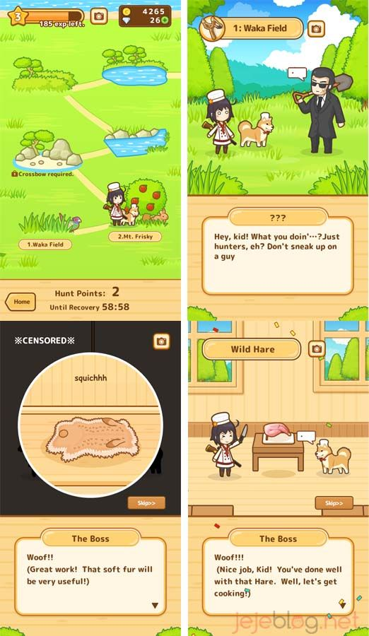 review game hunt cook
