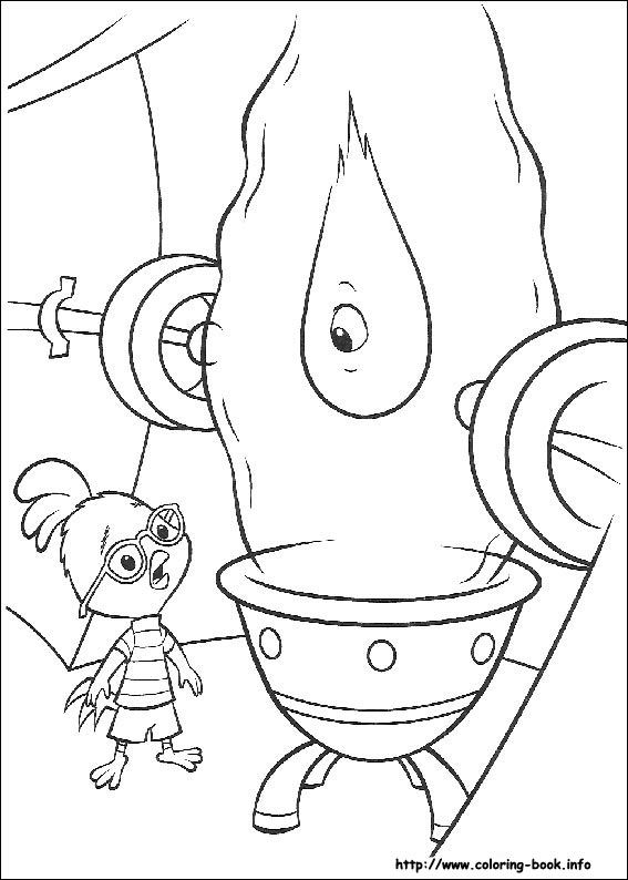 17 best Chicken Run Coloring Pages images on Pinterest