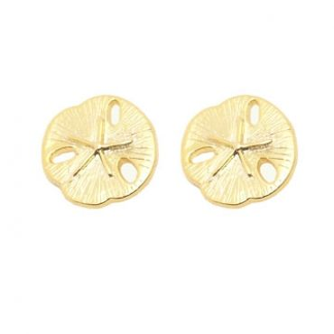 Sand Dollar Earrings in Gold- available in gold and silver.$24.00 Get 25% off these earrings with coupon code 'foxy pin' www.foxyoriginals... #sanddollar, #sand #dollar, #sandollar, #earrings, #goldjewelry, #goldearrings, #foxyoriginals, #sanddollardesign, #sistergift, #goldstuds, #jewelrygift, #cutepackaging, #holidaygift, #birthdaygift, #momgift