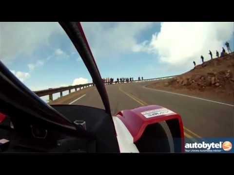 Mitsubishi i-MiEV Evolution Pikes Peak Race Car #IMIEV