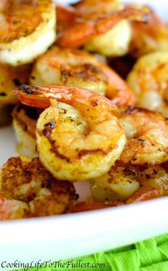 Zesty Lemon Sautéed Shrimp