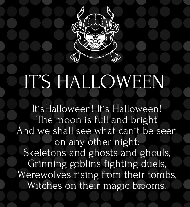 Halloween Friendship Poems · Happy Halloween QuotesHalloween ...