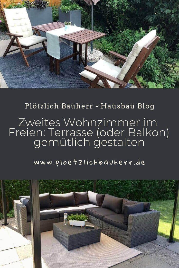 Zweites Wohnzimmer Im Freien Terrasse Oder Balkon Gestalten