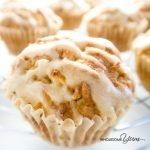 Salted Caramel Apple Muffins (Low Carb, Gluten-free)
