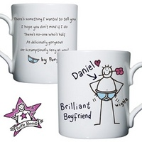 Personalised Purple Ronnie Boyfriend Mug from Experience Frenzy