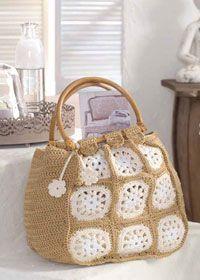 Free crochet pattern - shopping bag or holdall