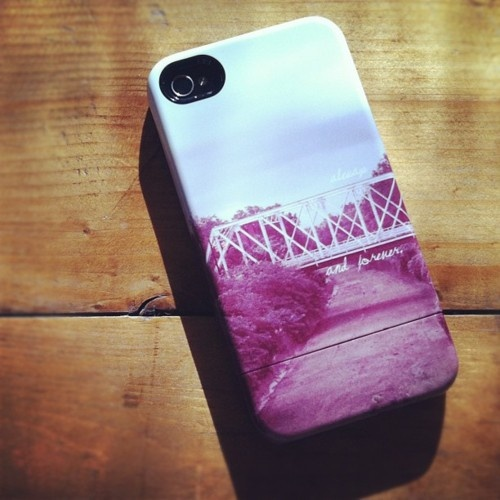 OTH iPhone case. Uh oh.