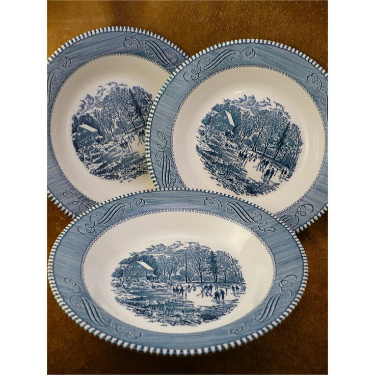 Vintage Currier and Ives -Royal China