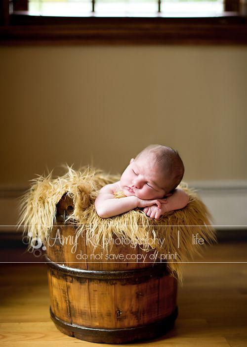 Bucket - Amy Ro Photography Massachusetts Newborn Photography