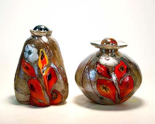 Cremation urns by Tom Michael
