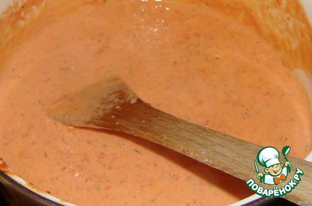 Томатно-сырный соус для курицы ингредиенты