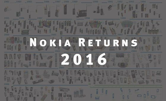Nokia Returns! Will Be Back to Smartphone Industry Again in 2016 say CEO Rajeev Suri!