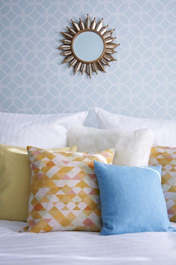 die besten 25 spiegel bett ideen auf pinterest spiegelkopfteil graues schlafzimmer dekor und. Black Bedroom Furniture Sets. Home Design Ideas