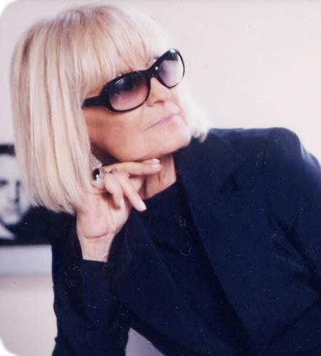 Barbara Hulanicki, founder of Biba, the iconic clothing store